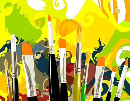 pallette: art Illustration