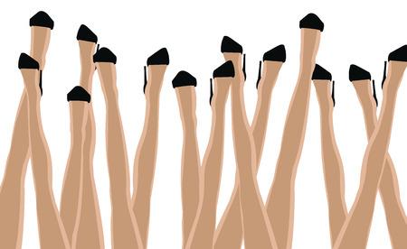 stilettos: legs