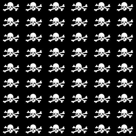 pirate girl: skull