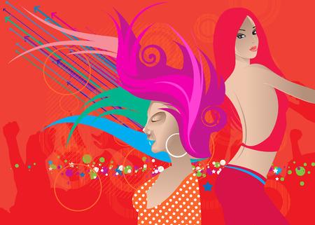 exaltation: party Illustration