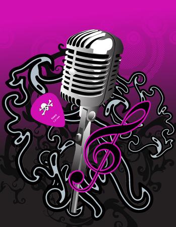 music Stock Vector - 3321059