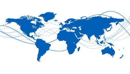 global market: world Illustration