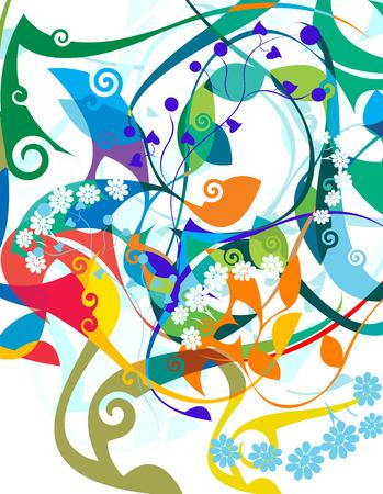 magnificence: background Illustration
