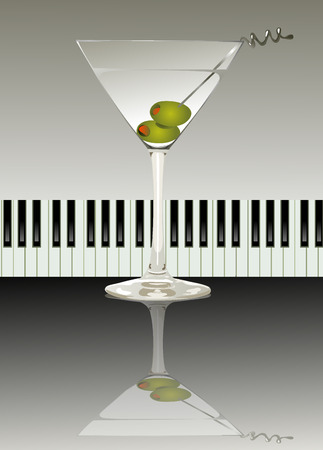 cocktail straw: party Illustration