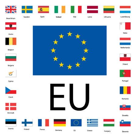 EU banners Vector