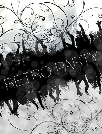 excitment: party Illustration