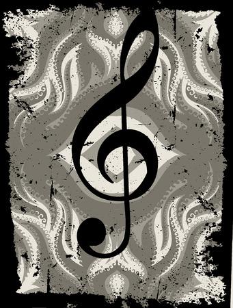 chorus: background Illustration