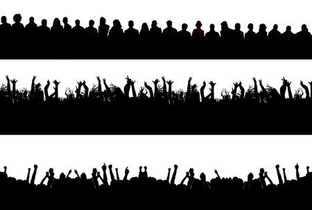 multitude: siluetas