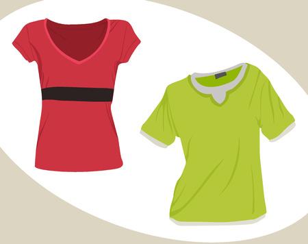 have fun: apparel Illustration