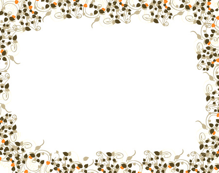 floral frame Stock Vector - 5684899
