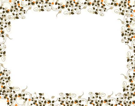 floral frame Stock Vector - 5684899