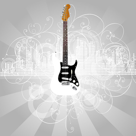 guitar Stock Vector - 5684897