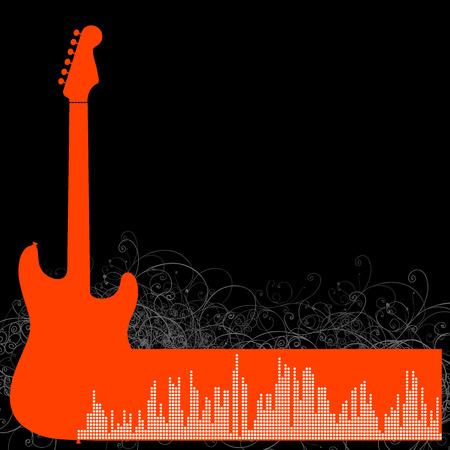 guitar Stock Vector - 5684906