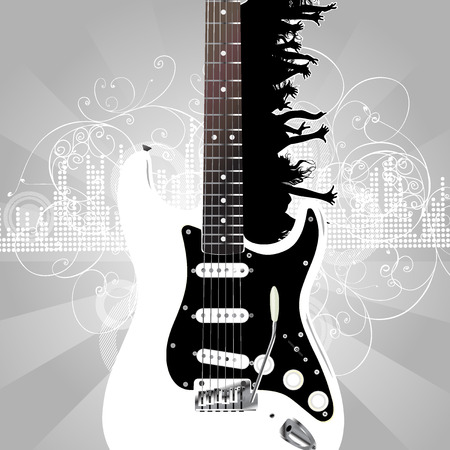 guitar Stock Vector - 5079851