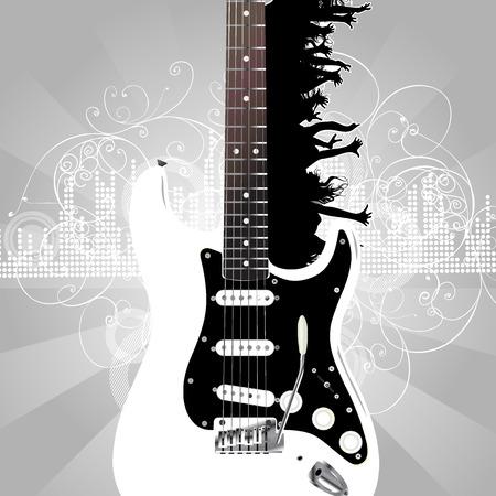 guitar Stock Vector - 5079851