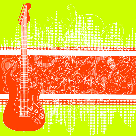 guitar Stock Vector - 5079852