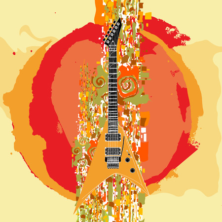 guitar Stock Vector - 5910151