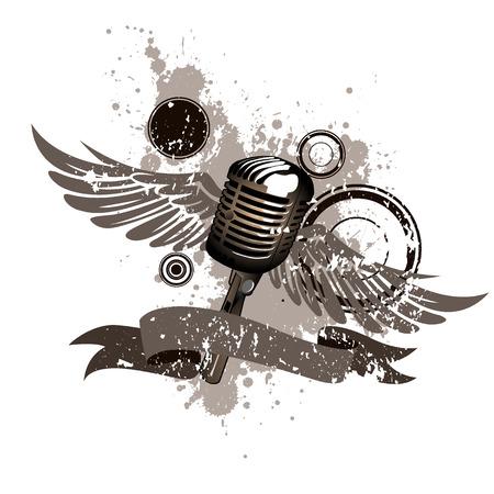 microfono de radio: micrófonos