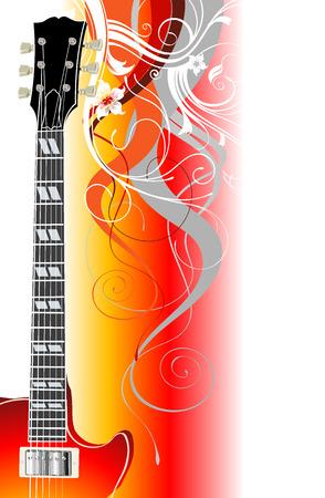legends: guitar legends Illustration