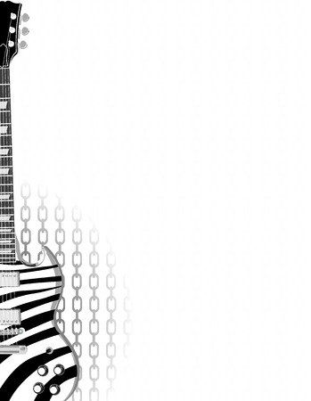 guitar Stock Vector - 6154383