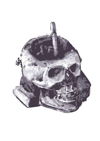 mortality: skull
