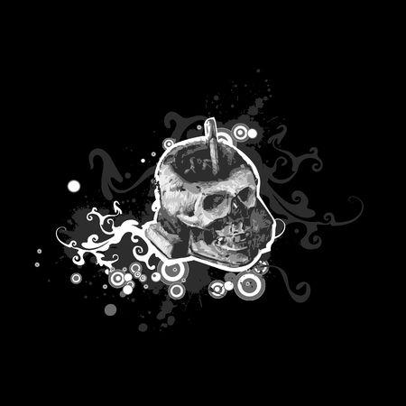 skull Stock Vector - 6717125