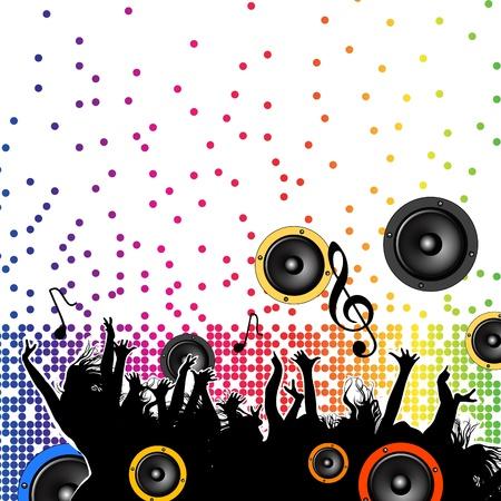 club scene: party Illustration