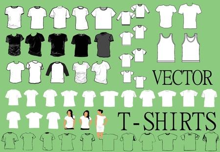 tee shirt template: t-shirts