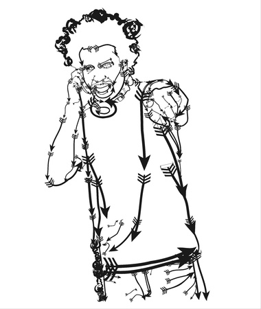 music figure: Jocker Illustration