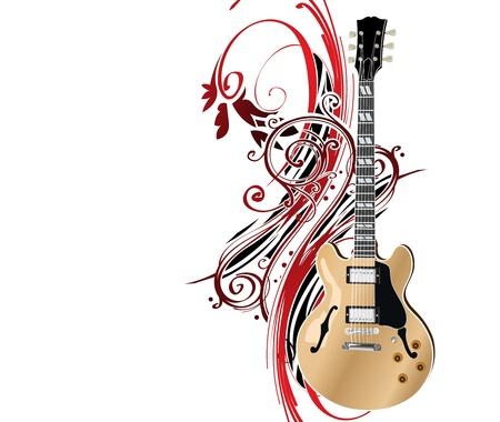 guitar Stock Vector - 10048677