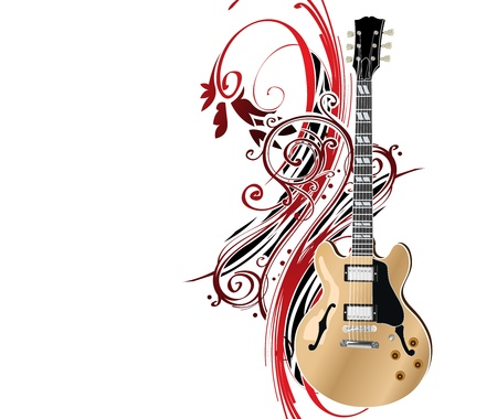 treble: guitar
