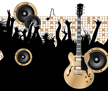 musical score: guitar