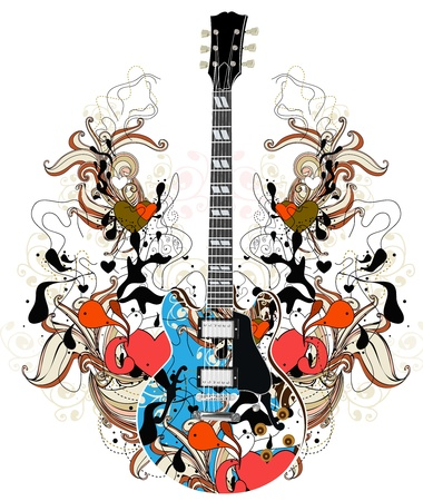 hard rock: floral