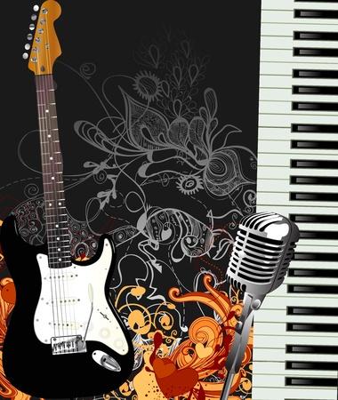 play music: music