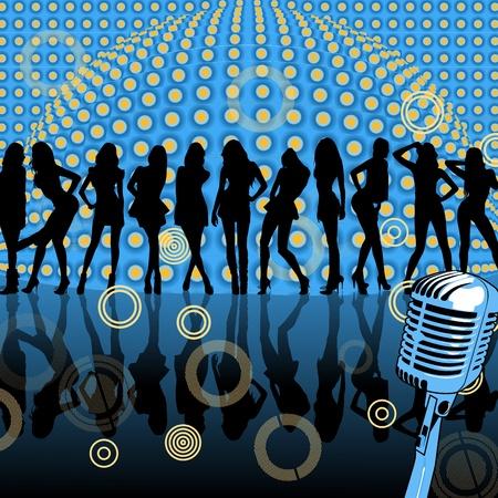party dj: partie Illustration