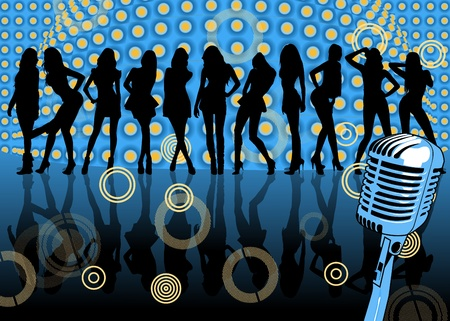 80: party Illustration