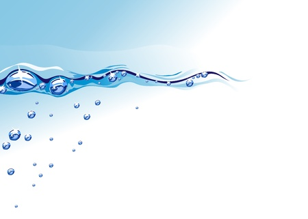 water surface: water Illustration