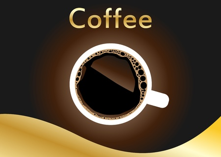 cafe latte: coffee