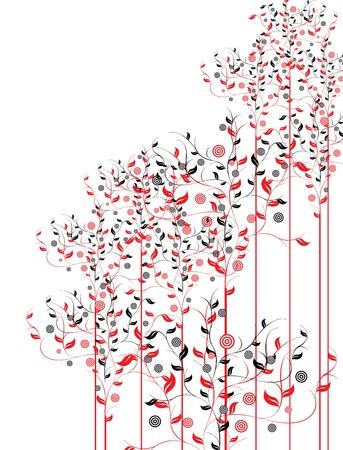 floral pattern motif: floral