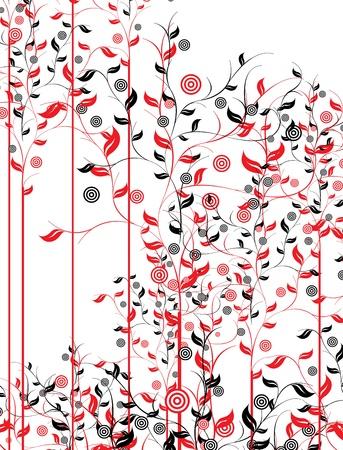 꽃의 일러스트