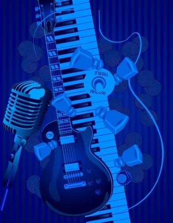 Musique Clip Art Libres De Droits , Vecteurs Et Illustration ...