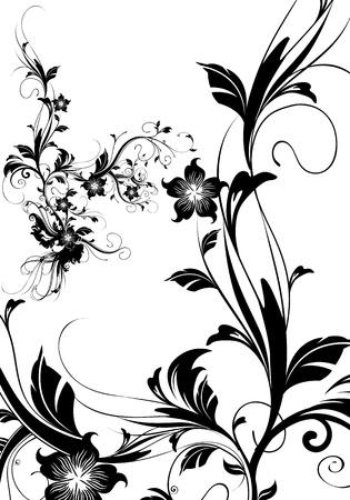 floral grunge: floral