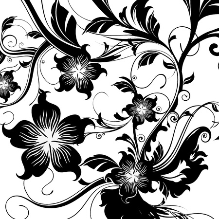 floral Stock Vector - 13534606