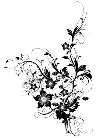 leaf curl: floral