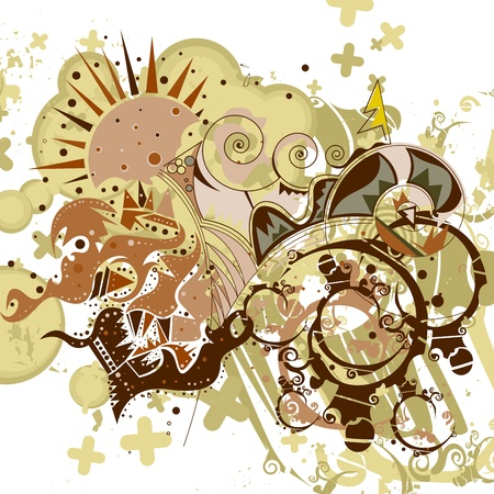artistic background Stock Photo - 13874054