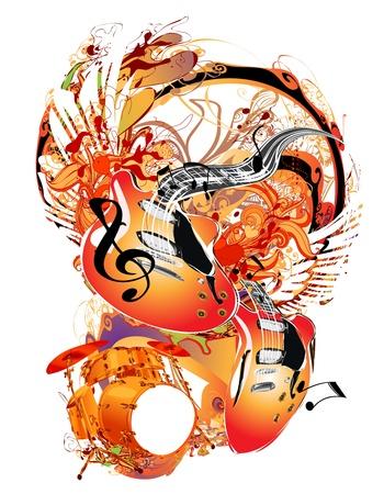 bass guitar: Music Theme
