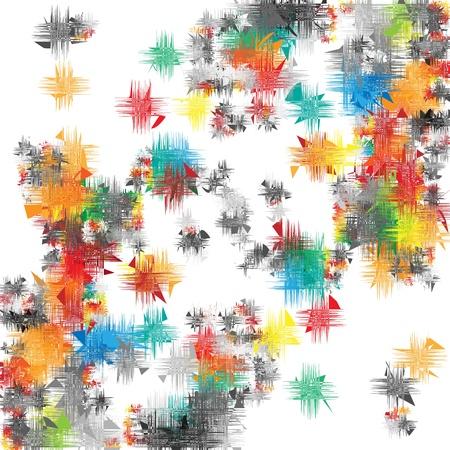 webbing: artistic background