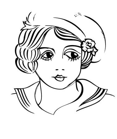 old school: Retro Illustration