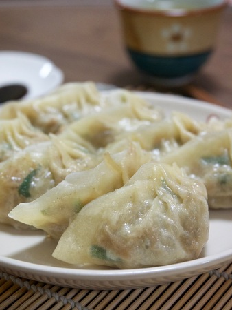 Asian food, dumplings Stock Photo