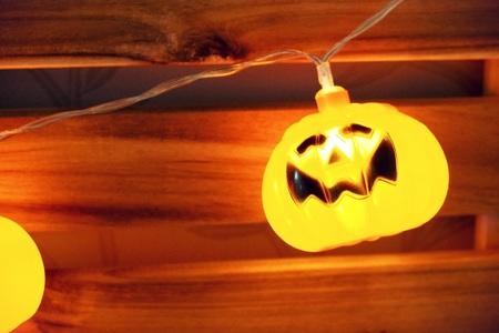 Halloween Day, Pumpkin doll, light